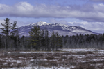 Mount Monadnock and Scott Brook Wetlands in Winter, View from Fitzwilliam, NH