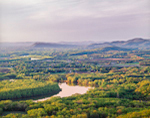 View of Connecticut River Valley including Mount Sugarloaf and Mount Toby, View from Mount Holyoke, Hadley, MA