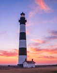 Predawn at Bodie Light, Cape Hatteras National Seashore, Outer Banks, Bodie Island, NC
