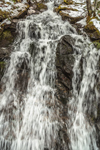 Waterfall in Freshet on Tributary of Green River, Colrain, MA