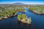 Aerial View of Mount Monadnock and Scott Pond, View from Fitzwilliam, NH