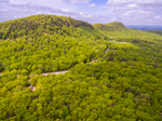 Aerial View of Holyoke Range, Mount Holyoke Range State Park, Amherst, MA