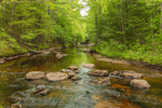 Crooked River in Spring, Albany Township, ME