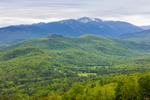 Mount Washington and White Mountains in Spring, White Mountains Region, View from Jackson, NH