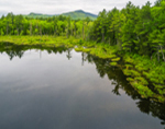 Red Eagle Pond in Spring, White Mountain National Forest, Albany, NH