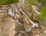 Jackson Falls in Spring, White Mountains Region, Jackson, NH