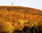 Late Evening Light on Talcott Mountain and Heublein Tower
