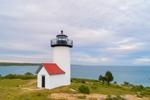 Tarpaulin Cove Lighthouse on Naushon Island, Elizabeth Islands, Town of Gosnold, MA