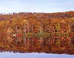 Fall Colors and Reflections at Lake Skannatati, Harriman State Park