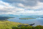 Mooselookmeguntic Lake in Spring, View from Height of Land Overlook, Rangeley Lakes Region, Township D, ME