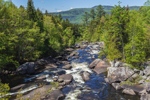 Rapids on Magalloway River in Spring, Lincoln, ME