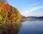 Fall Foliage along Croton Falls Reservoir