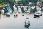Lobster Boats in The Basin at Perkins Cove, Ogunquit, ME