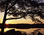 Sunrise on Lake Tiorati, Harriman State Park
