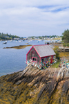 Lobster Shack at Mackerel Cove, Casco Bay Region, Bailey Island, Town of Harpswell, ME