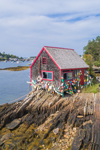 Lobster Shack at Mackerel Cove, Casco Bay Region, Bailey Island, Town of Harpswell, ME