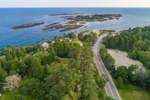Aerial View of Lands End and Jaquish Island, Bailey Island, Town of Harpswell, ME