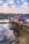 Lobster Shack on Mackerel Cove, Casco Bay Region, Bailey Island, Town of Harpswell, ME