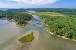 Aerial View of Spirit Pond and Morse River, Phippsburg, ME