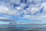 White Clouds over Blue Seas on Block Island Sound, off Charlestown, RI