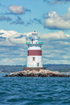 Latimer Reef Lighthouse, Fishers Island Sound, Suffolk County, Southold, NY