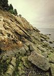 Rocky Cliffs on Mt. Hope Bay