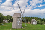 18th Century Higgins Farm Windmill and 1867 Henry Hopkins Blacksmith Shop, National Register of Historic Places, Drummer Boy Park, Cape Cod, Brewster, MA