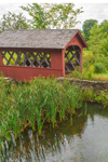 Red Covered Bridge at Little Bridge Farm, Wilmington, VT