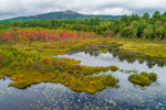 Perkins Pond and Mount Monadnock in Early Autumn, View from Jaffrey, NH