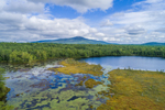 Meetinghouse Pond and Mount Monadnock, View from Marlborough, NH
