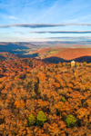 Haystack Mountain in Fall, Haystack Mountain State Park, Norfolk , CT