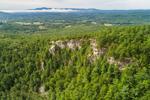 Quartzite Crags on Monument Mountain, Berkshire Mountains, Great Barrington, MA