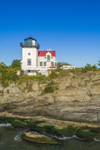 High Hill Point Lighthouse, Sakonnet River, Tiverton, RI