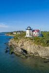 High Hill Point Lighthouse, Sakonnet River, Tiverton, RI