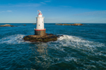 Sakonnet Point Lighthouse, Sakonnet River and Rhode Island Sound, Little Compton, RI
