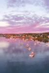 Lobster Boats in Stonington Harbor at Sunrise, Deer Isle, Stonington, ME