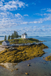 Pumpkin Island Lighthouse, Eggemoggin Reach, Little Deer Isle, ME