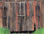 Weathered Barn Doors