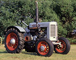 Silver King Tractor, Potterville Museum