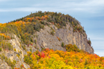 Close-up View of Rock Cliff on Mount Kineo in Fall, Moosehead Lake Scenic Byway, Rockwood, Kineo Township, ME
