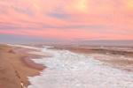 High Surf and Sunset at South Beach, Martha's Vineyard, Edgartown, MA