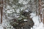 Branch Brook in Winter, Green Mountains Region, Marlboro, VT