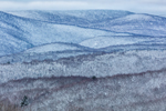 Green Mountains in Winter, Green Mountain National Forest, View from Wilmington, VT