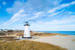 Edgartown Lighthouse, Built 1881, Martha's Vineyard, Edgartown, MA
