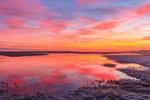 Dramatic Sunrise over Marshes at Boardwalk Beach, Cape Cod, Sandwich, MA