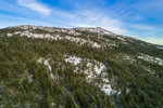 Summit of Mount Monadnock in Winter, Jaffrey, NH
