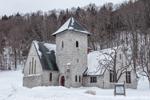 Church of Our Saviour in Winter, Killington, VT