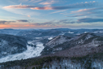 Aerial View Overlooking Rattlesnake Mountain, West River, and Townshend Reservoir, View from Townshend, VT