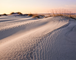 Evening Light on Sand Patterns, Pea Island National Wildlife Refuge, Cape Hatteras National Seashore, Outer Banks, NC