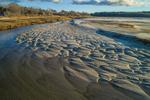Stony Brook and Sandbars near Paine's Creek Beach, Cape Cod, Brewster, MA